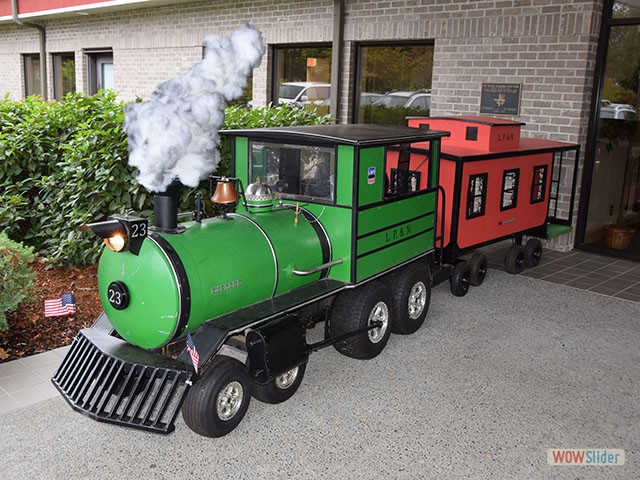 Jeff Wilson's '23' train – we've seen in in the parade